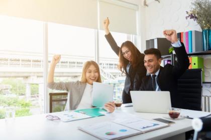 felicidad productividad éxito